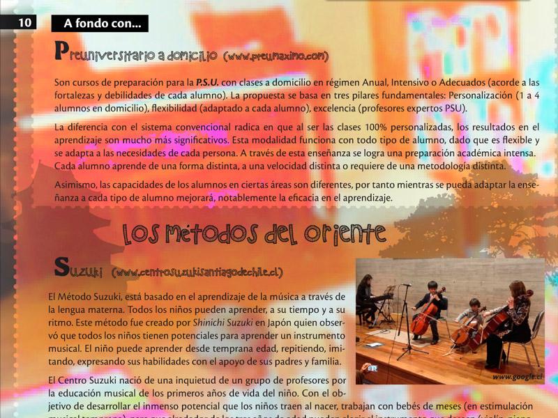 Preuniversitario Máximo en Revista Vitrina Académica